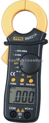 bm821a数字式钳形表