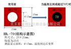 HR1-70变色测温贴片