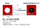 HR1-90感温贴纸