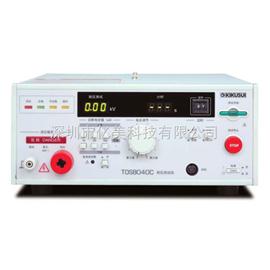 TOS8040C日本菊水KIKUSUI TOS8040C AC耐压测试仪