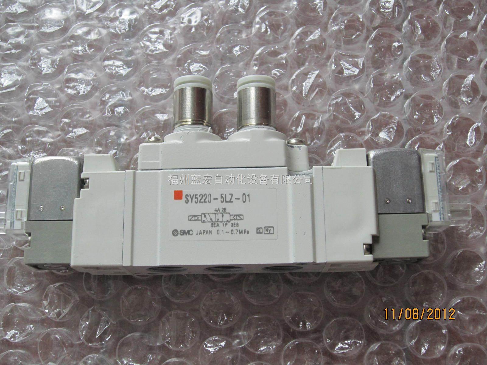sy5220-5lz-01smc电磁阀图片