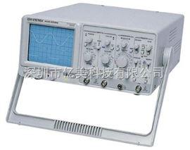 GOS652G中国台湾固纬模拟示波器GOS652G华南代理