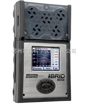 英思科MX6 iBrid复合式6气体检测仪