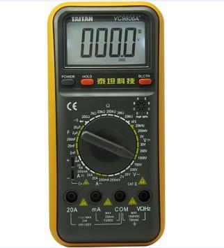 vc9806a 数字万用表(泰坦)