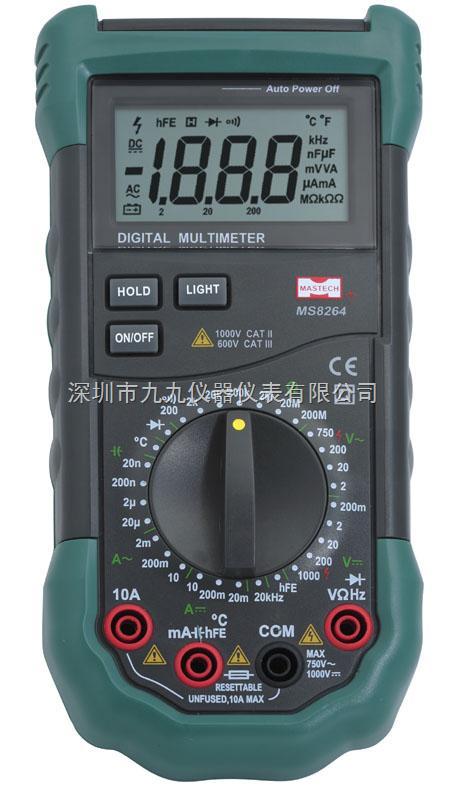 数字万用表 > ms8264华仪ms8264新型全保护电路数字