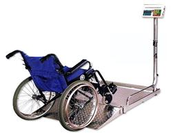 200KG医院用不锈钢轮椅电子秤