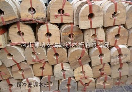 空调木托、镀锌管木托