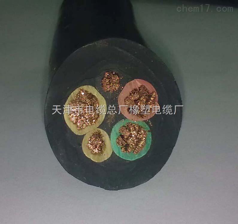 YZW橡套电缆4芯X0.75mm2中型移动软电缆