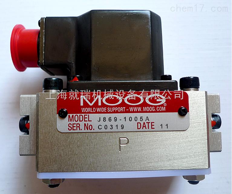 美国穆格伺服阀D634-319C产品