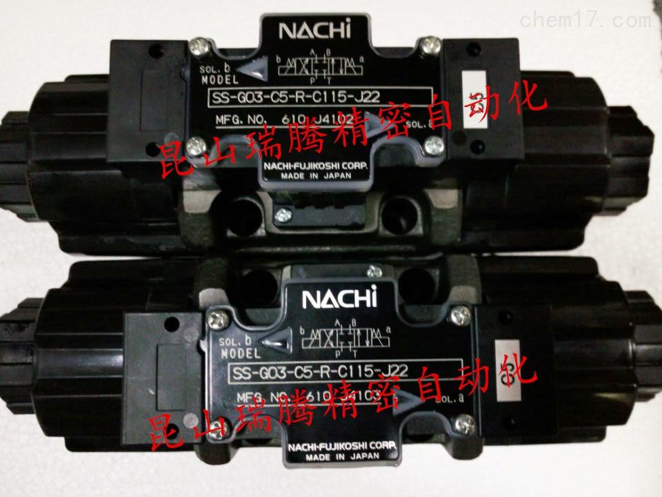 不二越NACHI液压SS-G03-C6-R-C115-J22电磁阀