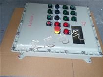 非标定做防爆配电箱带灯按钮急停分合开关箱内部可接线隔爆铝壳箱