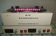 GW-2DF两孔油浴磁力加热搅拌器