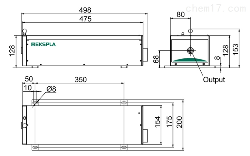 电子电工仪器 测量仪表 其它 nl300 nl300系列高能量电光调q激光器