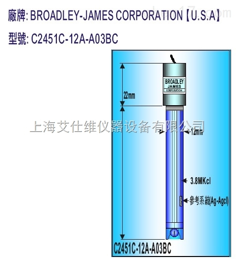 美国BJC电极S-400