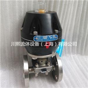 气动卫生级隔膜阀 法兰/快装/焊接/螺纹
