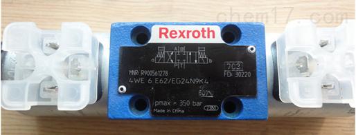 Rexroth力士乐换向阀技术参数