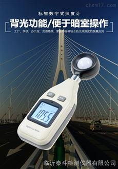 山西太原标智GM1010高精度光照强度测试测光表亮度计光照度计照度仪