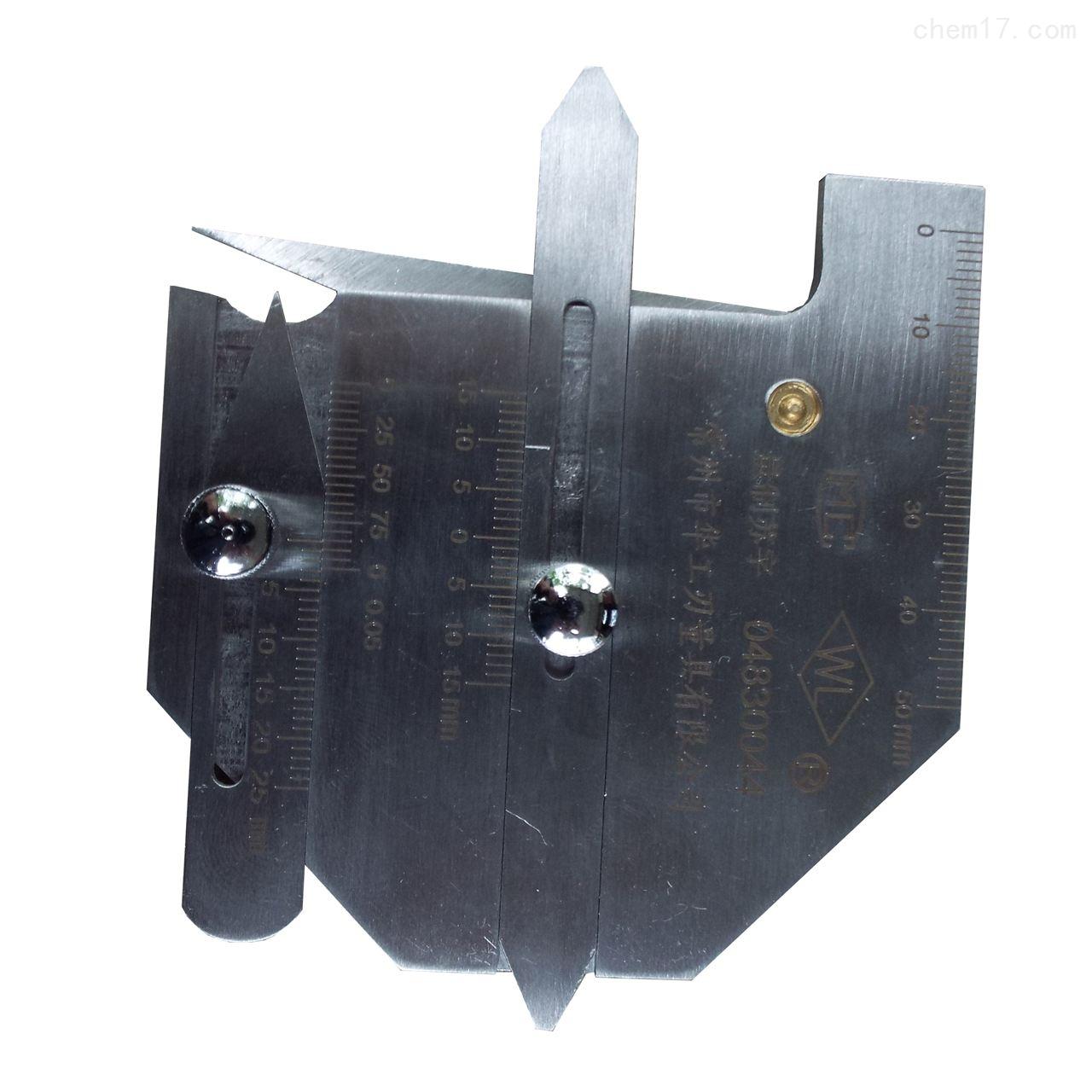 精致焊缝检验尺 焊缝测量尺