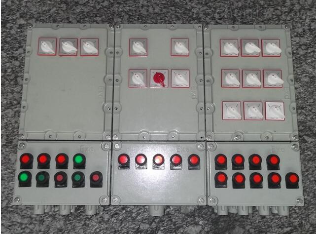 化工厂防爆动力配电箱 防爆起动箱 印染厂防爆照明配电箱