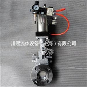 PZ673造纸专用气动浆料闸阀