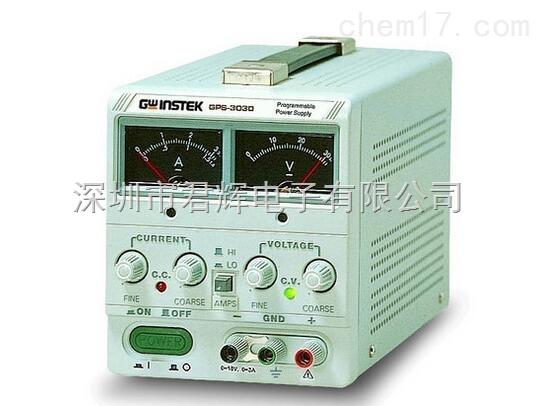 固纬直流稳压电源gps-3030d