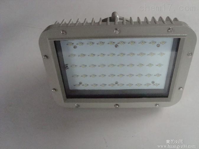 供应贵州LED防爆灯防水等级IP65,加气站LED防爆罩棚灯
