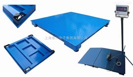 DCS-XC-A香川电子地磅、3吨电子磅秤、2*2米地磅秤