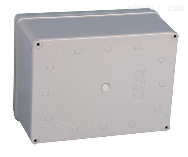 乐清市明舟塑料盒厂专业生产销售各规格塑料接线盒,其中zui常用的规格就有250*150*100mm塑料接线盒280*190*130mm塑料接线盒95*65*55mm塑料接线盒100*100*75mm塑料接线盒。 250*150*100mm塑料接线盒其适应于恶劣工业环境下的电子电气控制设备或各种防自然灾害设备,内可装长宽高小于250*150*100mm透明的电子元器件,如断路器,接触器等产品。 采用台湾进口高强度ABS材料制成,默认规格为灰白色壳体,塑料防尘,抗冲击,耐腐蚀,寿命长,绝缘性能长,易加工。 非