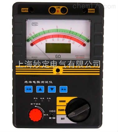 HD3123 指针式电动兆欧表