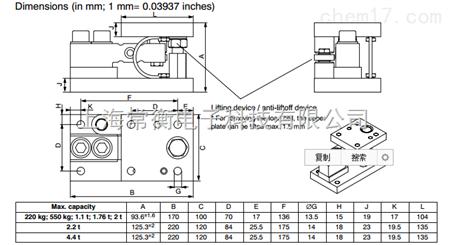 产品展厅 电子电工仪器 传感器 称重传感器 hlc/m系列 德国hbm称重