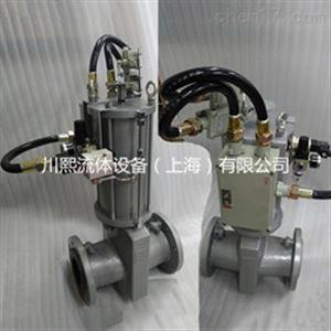 GJ641X矿用防爆气动管夹阀