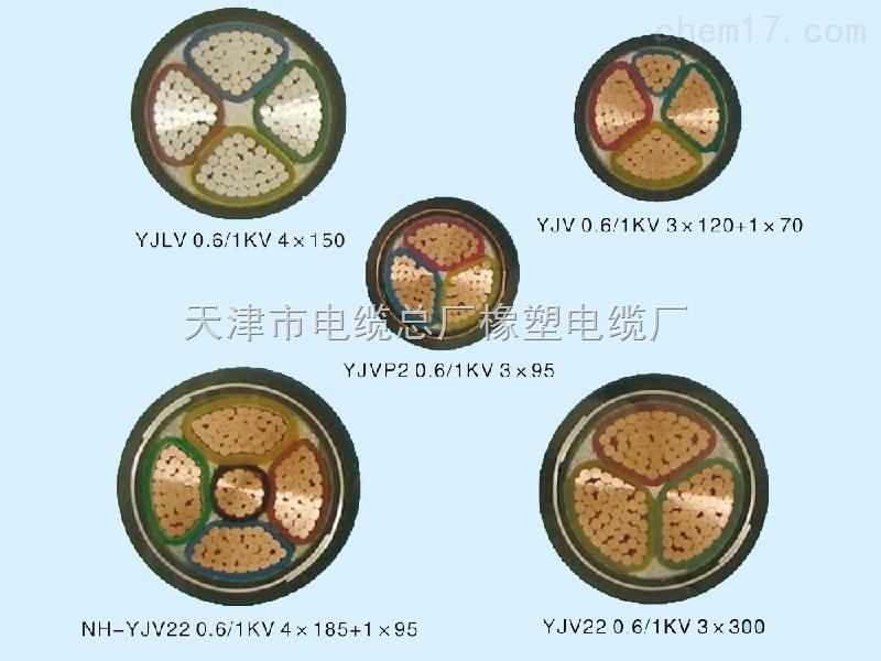 YJV22-3X70高压电力电缆10kv电力工程