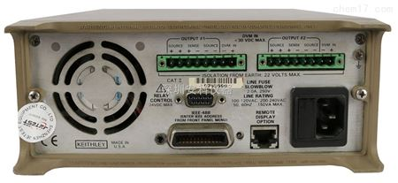 产品展厅 配件耗材 电源设备 交/直流稳压电源 2306 吉时利双路输出