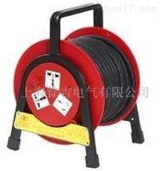 广州特价供应便携式移动线盘(红)