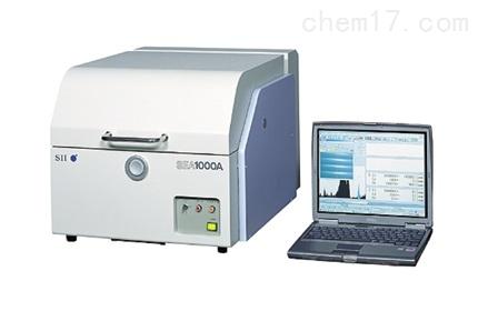XRF荧光光谱仪SEA1000AII