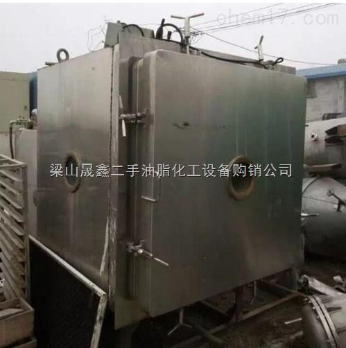 转让化工机械设备二手5平方冷冻真空干燥机干燥设备