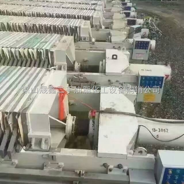 二手洗煤厂100平方隔膜压滤机