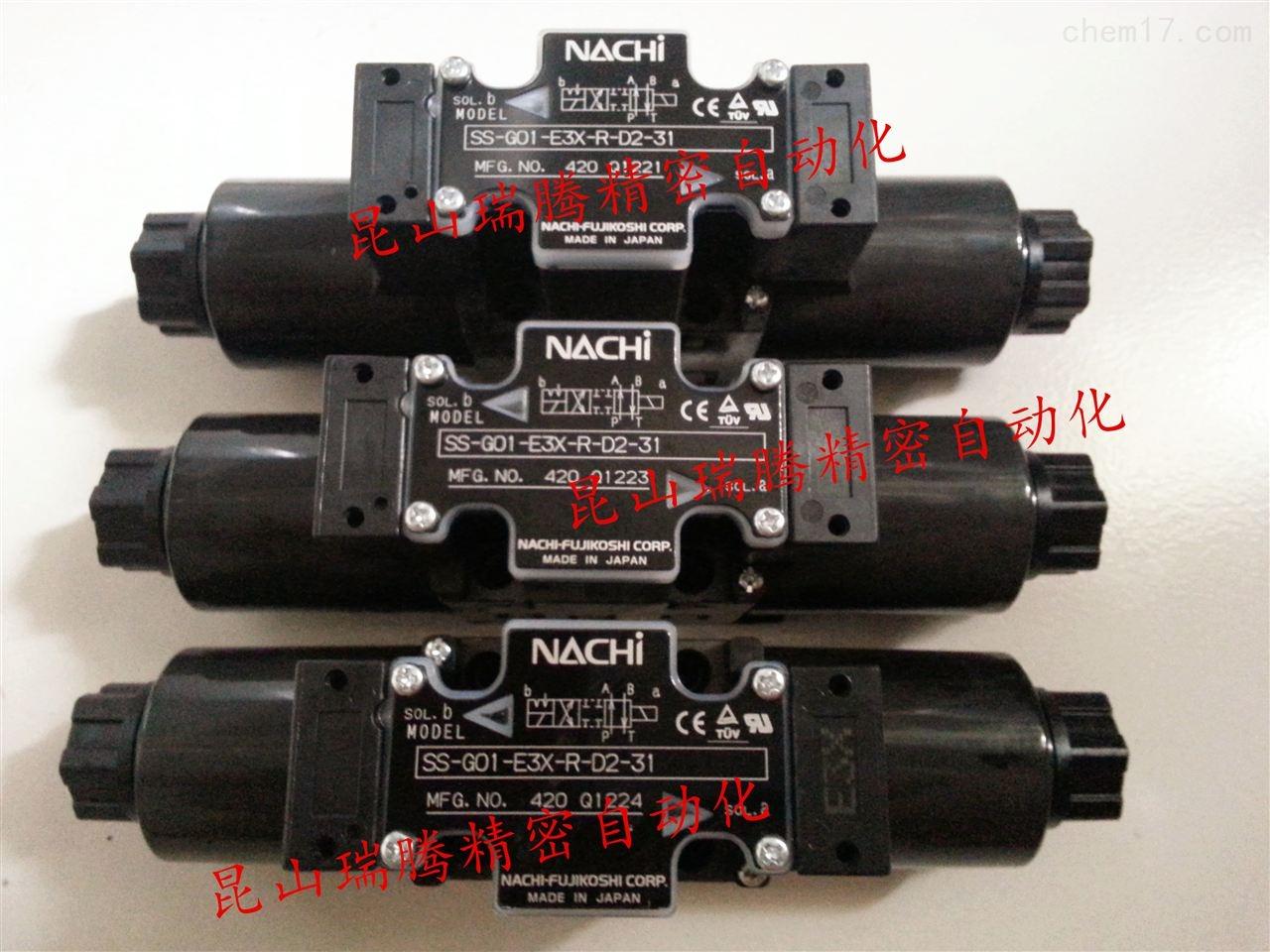不二越NACHI电磁阀SS-G01-E3X-R-C1-31