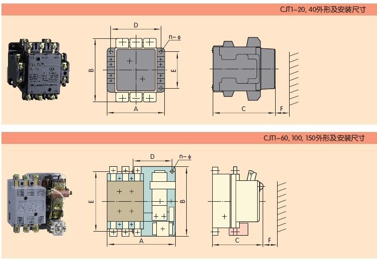 cjt1-10g交流接触器
