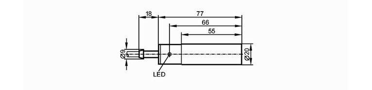 易福门ifm电感式传感器   电感式传感器种类很多,常见的有自感式,互感