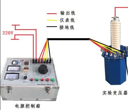 电力高压试验变压器操作步骤
