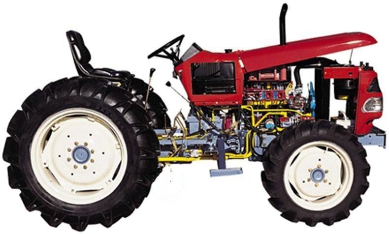 适用于拖拉机各系统的结构与原理认知