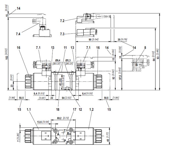 正文  液压装置中容易产生噪声的元件一般认为是泵和阀,阀中又以溢流图片