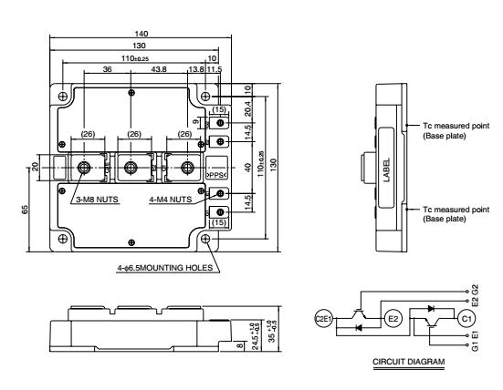 三菱电机将携同多种系列的IGBT模块上,为不同领域的客户提供与其相应的应用解决方案。三菱电机采用最新开发的载流子存储式沟槽型双极晶体管(CarrierStoredTrench-gateBipolarTransistor,CSTBTTM)功率硅片,实现了IGBT模块:CM600DU-24NF的产品化,其具有低损耗、低饱和压降、高功率循环和寿命长等优点。分别针对不同应用开发了ANF、NFM、NFH和NX系列。A系列IGBT模块为中低端工业应用提供性价比优异的IGBT模块,其应用场合如:通用变频器、伺服驱动