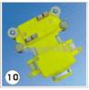 多级滑觸線集電器